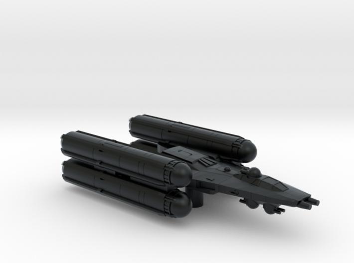 Y Wing Gunship 3d printed