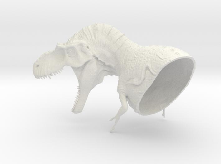 Albertosaurus Head (Total 56cm / 1:16) 3d printed