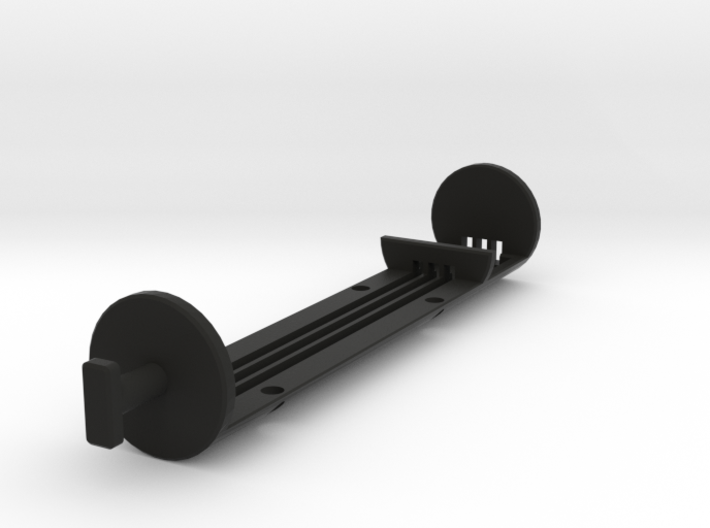 1 Inch Stunt Battery Chassis STL 3d printed