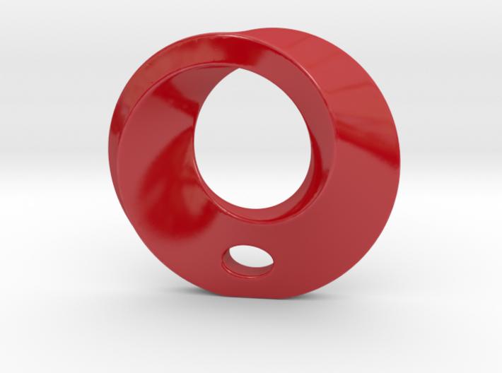 Mobius Porcelain Pendant 3d printed