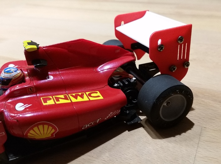 Sideplate Right Version2 for F 1 rear wing 3d printed