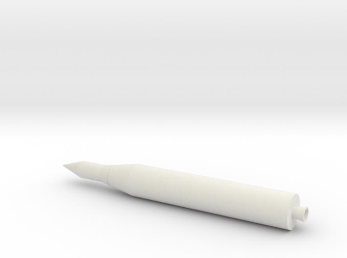 1/200 Juno II Rocket 3d printed