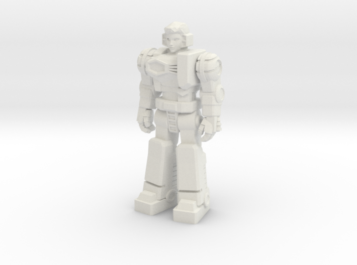 Diaclone Pilot, at attention 35mm Mini 3d printed