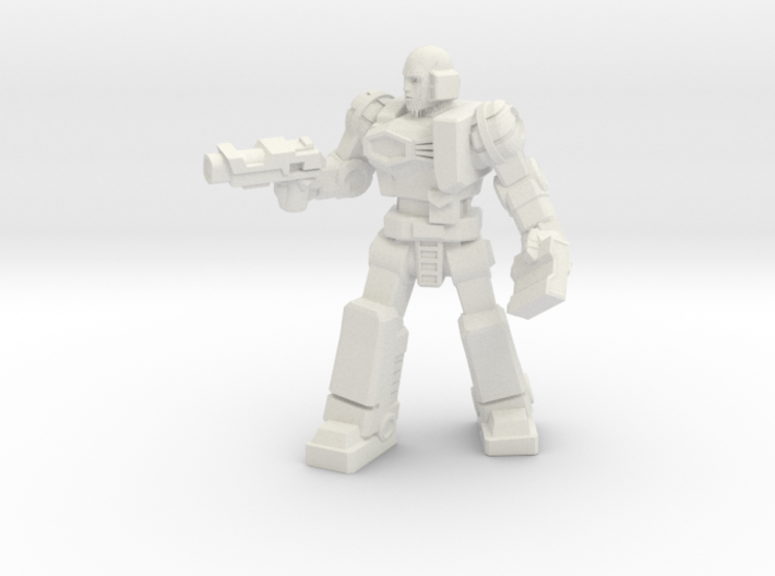 Diaclone Patrol Leader, 35mm Mini 3d printed
