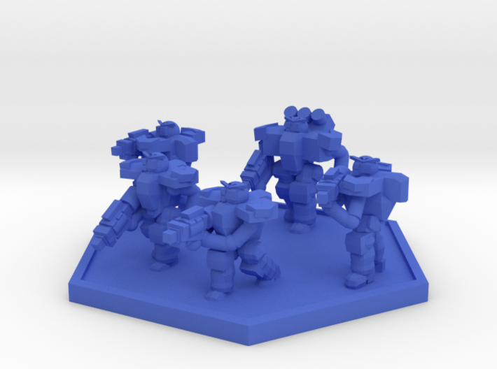 Colour Rim Bastion PA Trooper Squad 3d printed
