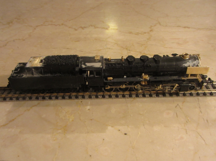 DSB class N kit for N scale BR 50 3d printed