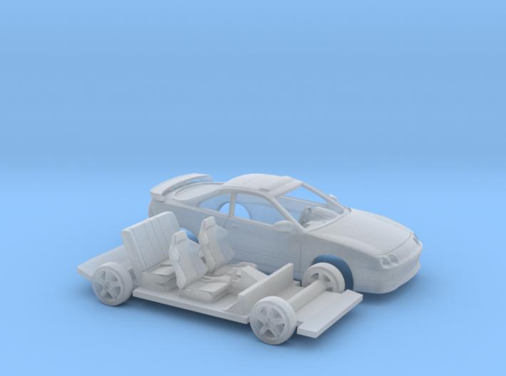 1/87 1996 Acura Integra 2 Piece Kit 3d printed