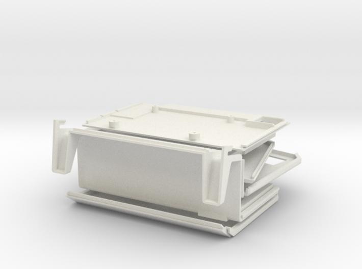 Apple Lisa 1 Raspberry Pi Case 3d printed