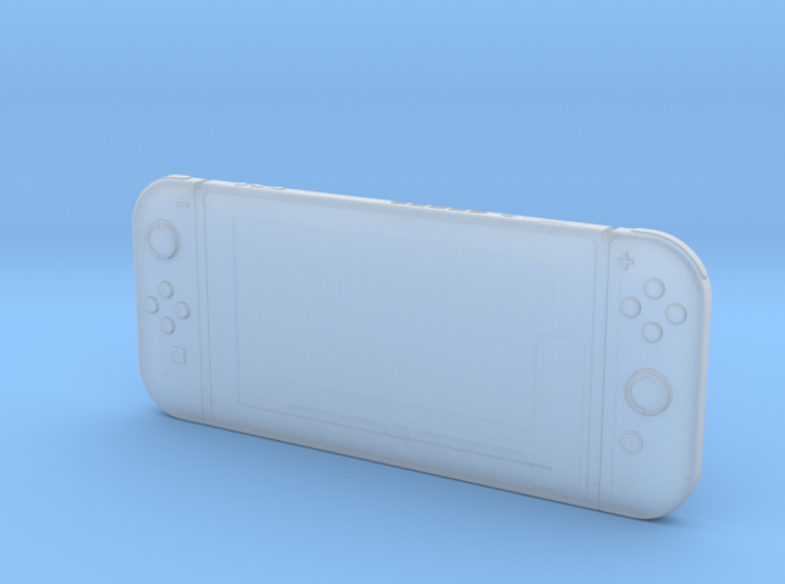 Nintendo Switch (1:10 Scale for Frosted Detail) 3d printed