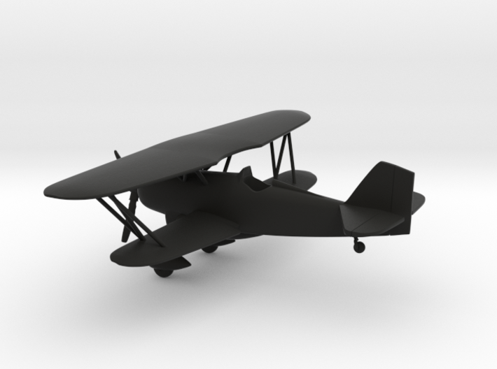 Curtiss P-6 Hawk biplane 3d printed