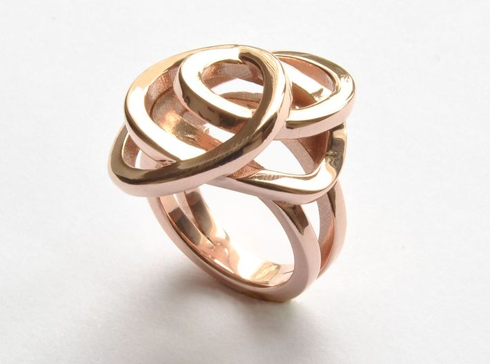 Ring Love is in the Air Medium (from $16) 3d printed Affaire Ring