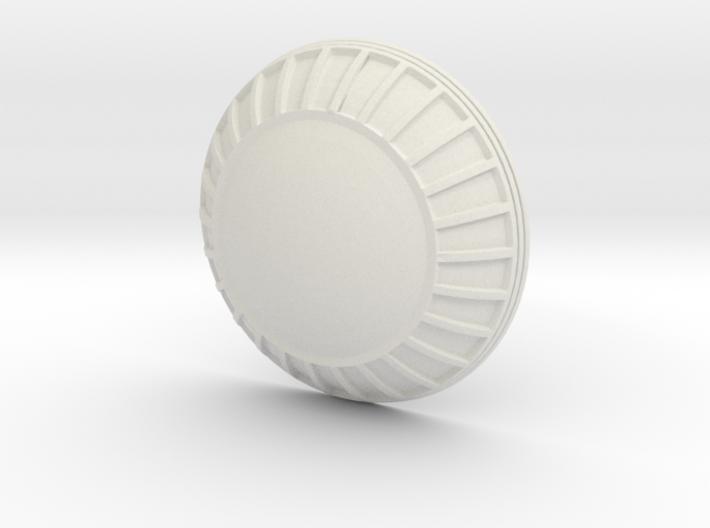 NX Observation Dome For Lunar Models Excelsior 3d printed