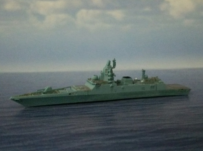 1/2000 RFS Admiral Gorshkov-class frigate 3d printed painted