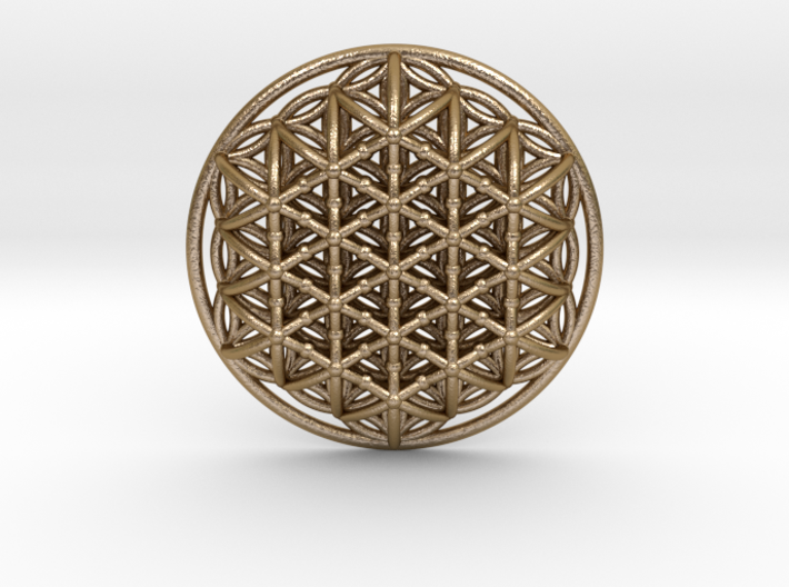 3d Flower Of Life 3d printed