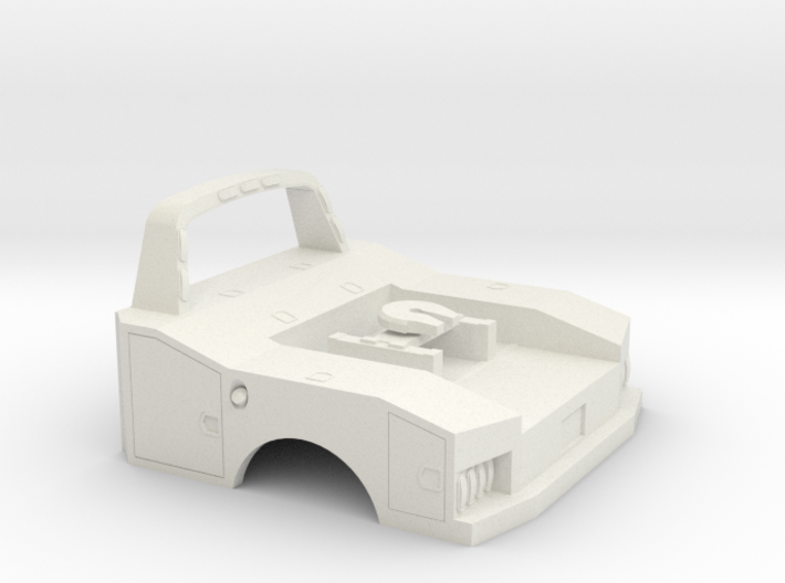 1/87 Fith Wheel Bed 3d printed