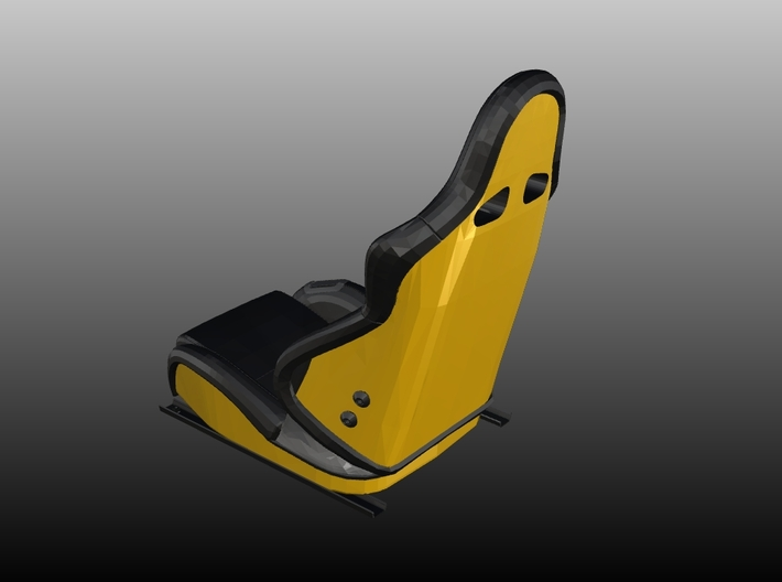 Sport Seat F-Enzo Type - LEFT - 1/10 3d printed