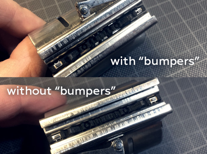 GRFLX Vintage Clamp Switches Holder 3d printed