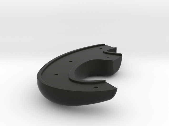 Race Wheel - AMG -Left Rear Grip 3d printed