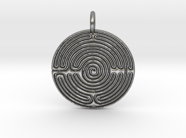 Small Labyrinth 3d printed
