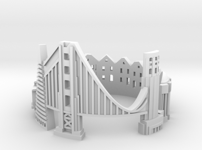 SanFrancisco 8,5 3d printed