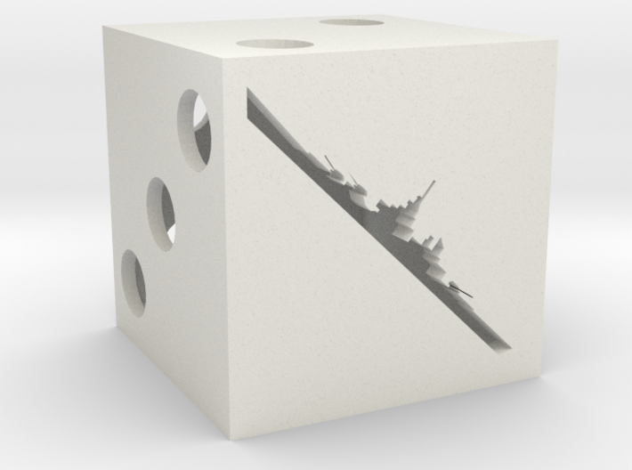 Combat dice for Axis & Allies 3d printed
