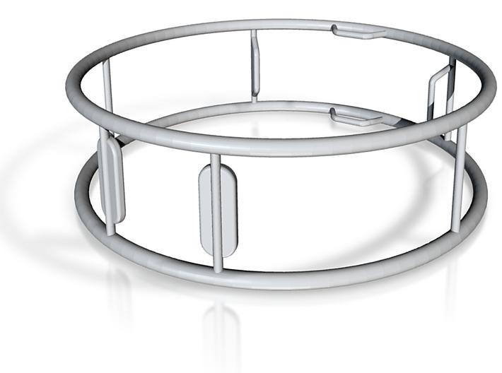 Gymwheel.silver 3d printed
