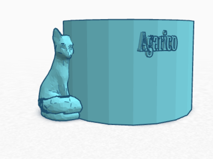 Agarico Soda Coozie 3d printed