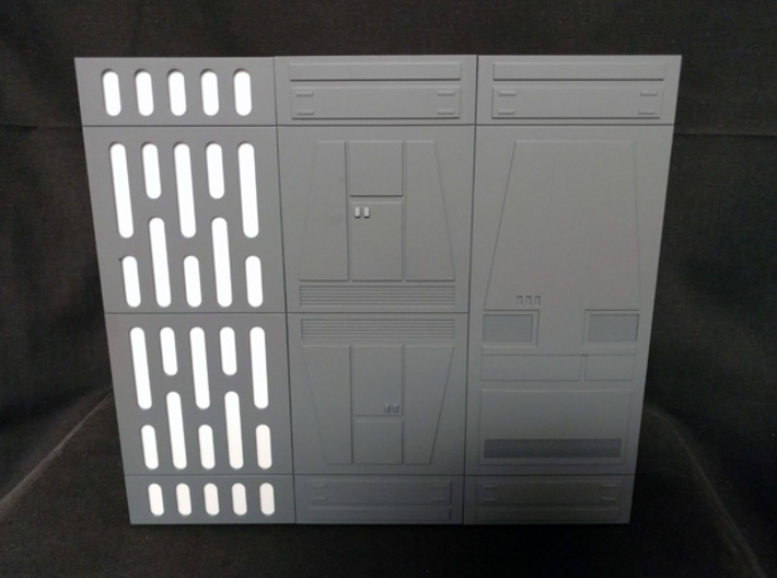 PRHI Space Walls Connector Type B 4x 3d printed