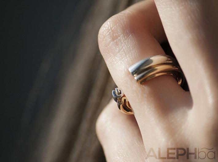 B Ring 3d printed