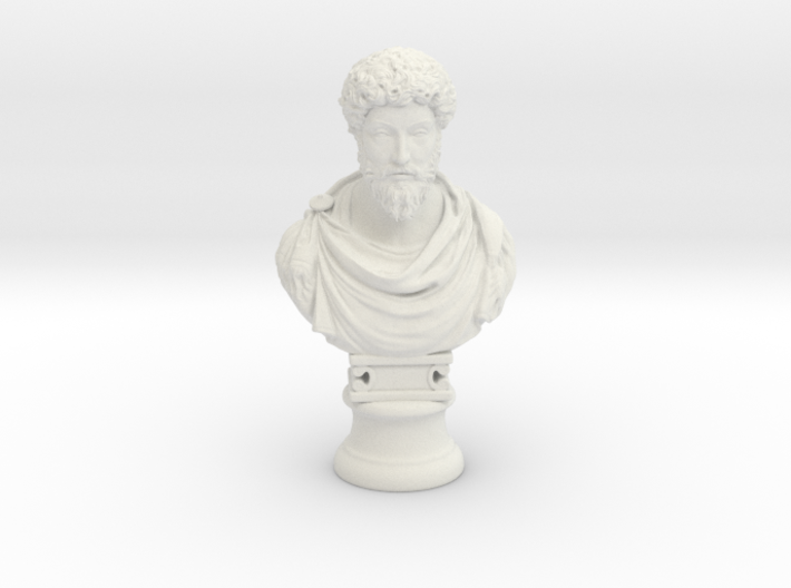 Marcus Aurelius 12 inches 3d printed