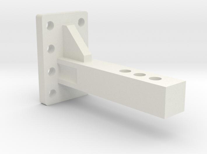 Traxxas TRX-4 & Axial SCX10II Pintle Hook Reciever 3d printed