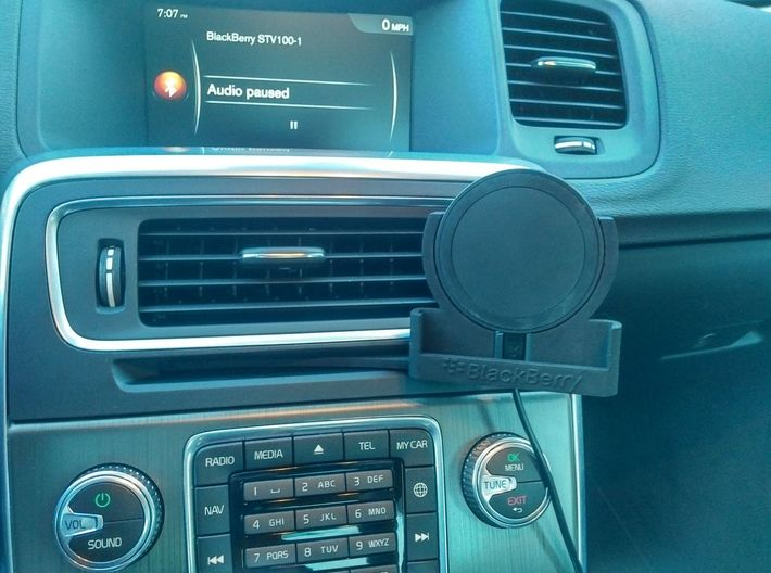 Blackberry Priv CD Car Holder 3d printed