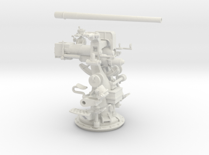 Best Cost 1/32 3in-50 [7.62 Cm] Deck Gun KIT 3d printed