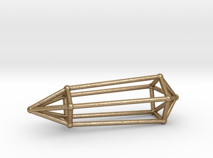 Phi Vogel Crystal - 5 Sided 3d printed