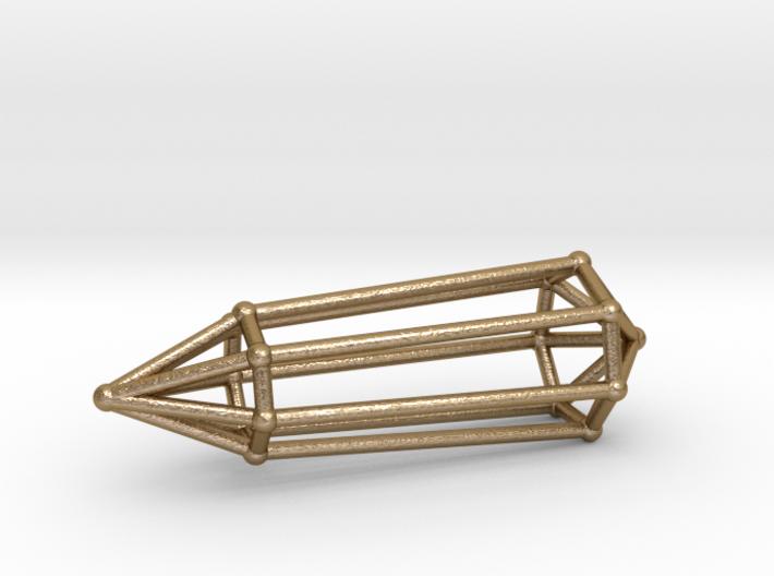 Phi Vogel Crystal - 7 sided 3d printed