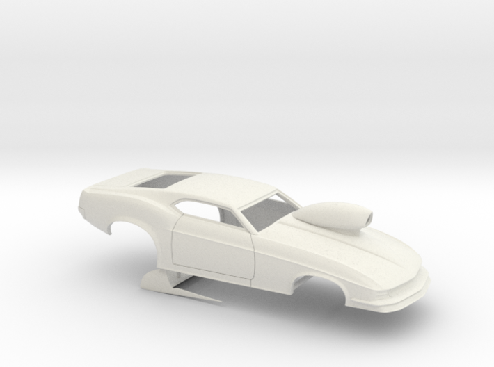 1/12 1970 Pro Mod Mustang With Scoop 3d printed