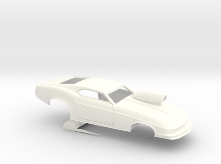 1/32 1970 Pro Mod Mustang With Scoop 3d printed