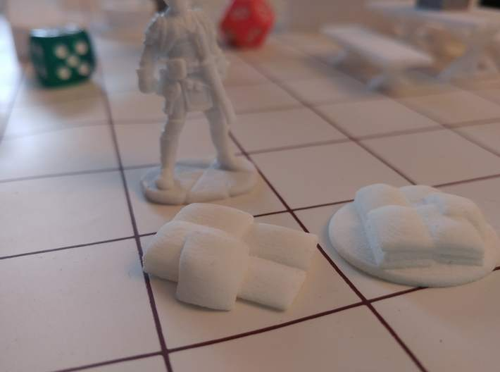 Tabletop: Flour Sack Stack 3d printed