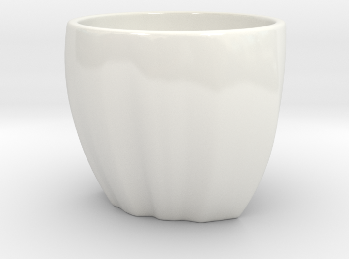 Ethiopia in a cup 3d printed