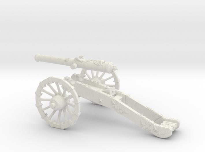 AF French gun 12 Pounder 7 Years War 28mm 3d printed