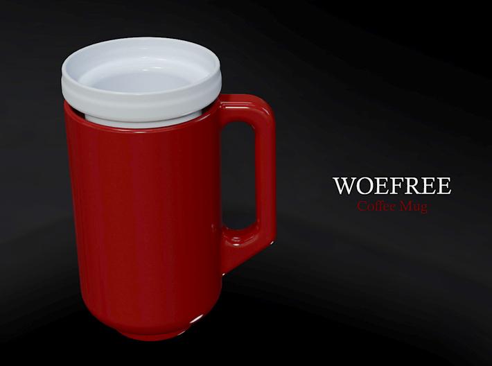 Woefree - Coffee Mug 3d printed