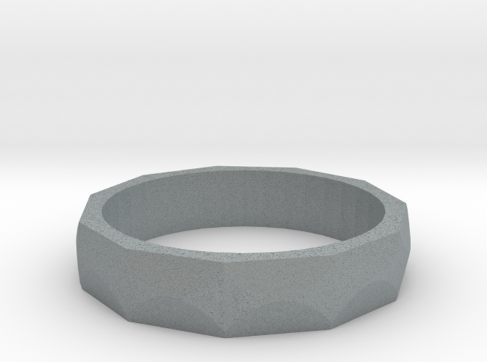 Facet Ring Sizes 6-12 3d printed