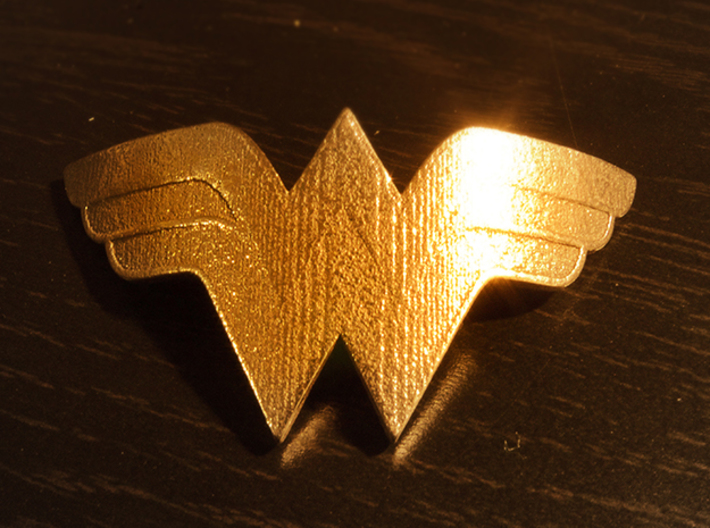Wonder Woman Bracelet 3d printed Front