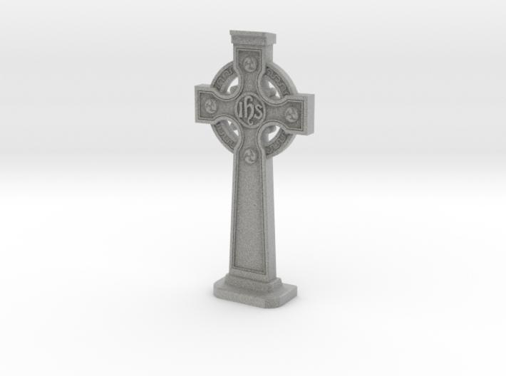 Gravestone miniatur Celticcross10  3d printed