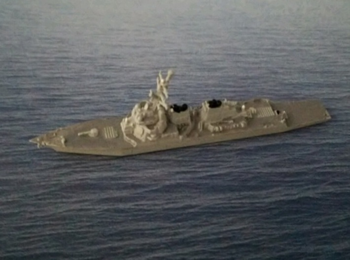 1/2000 USS John Paul Jones 3d printed painted