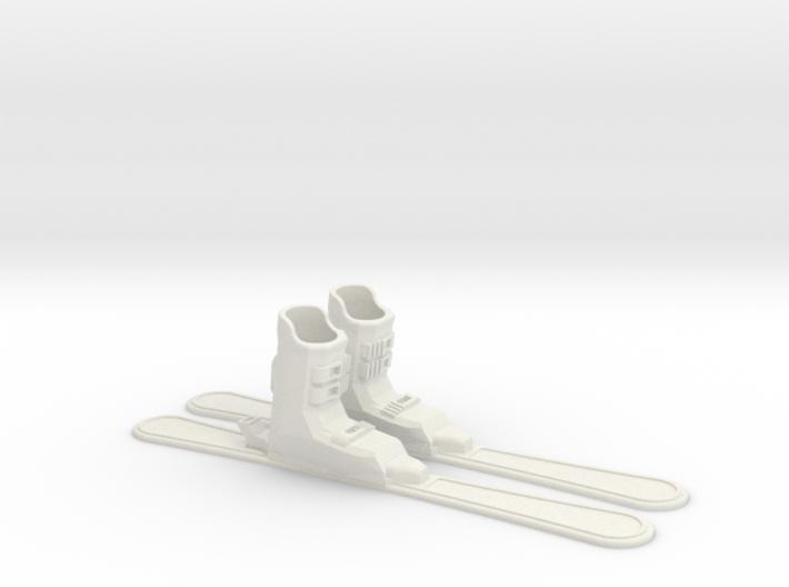 Finger Skis 3d printed