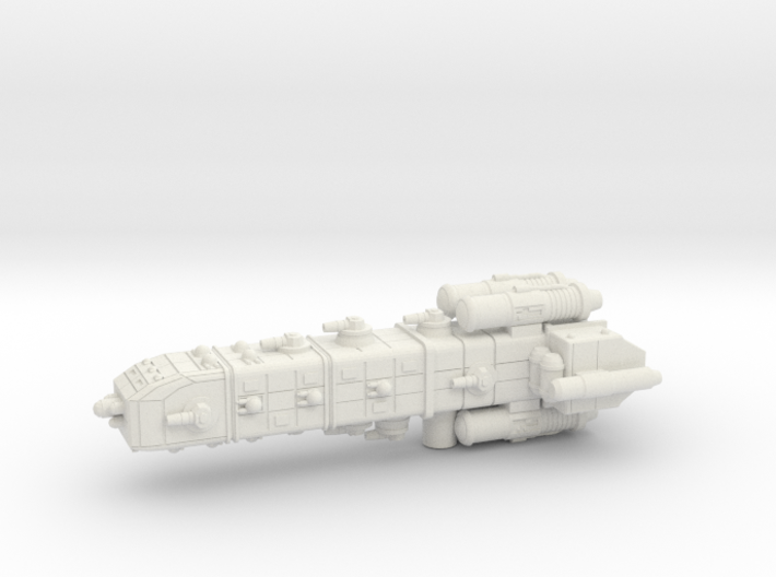Colonial Battle Cruiser 3d printed