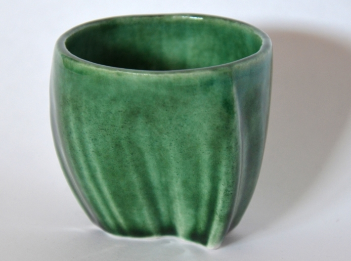 French Guiana in a cup 3d printed