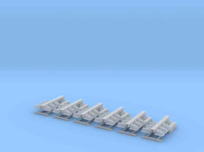 1/64 Light Towers set of 6 3d printed