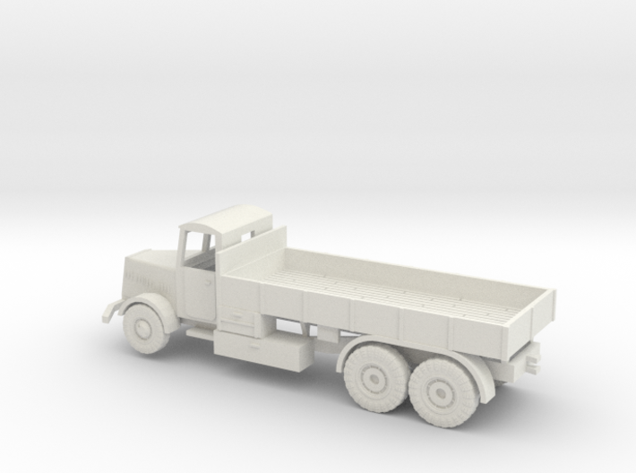 1/144 Faun L900 tank transporter with closed cabin 3d printed